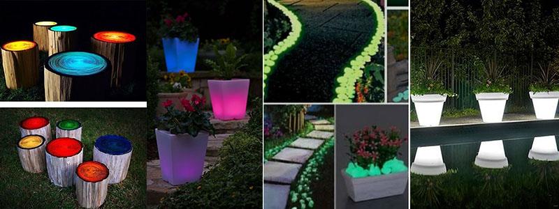 Obiecte banale transformate cu vopseaua glow