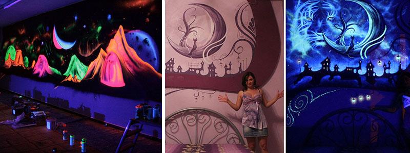 Desene fantastice pentru pereti