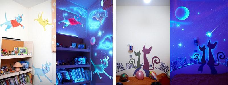 Desene si picturi pentru camera copiilor