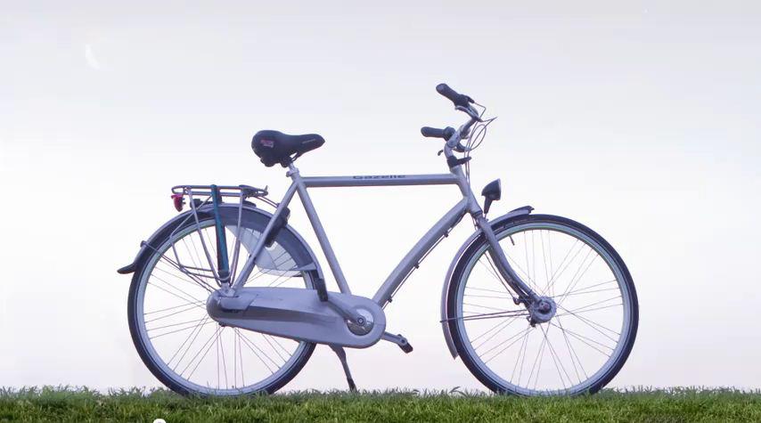 Bicicleta nocturna cu iluminare activa